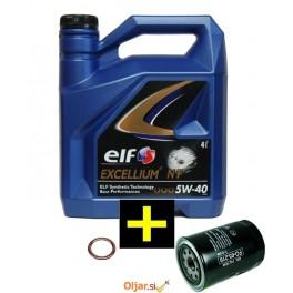 KPL ELF EXCELLIUM NF 4L+ČISTILEC OLJA+PODLOŽKA